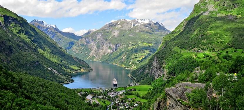 Geiranger – klejnot wśród norweskich fiordów – najpiękniejszetrasy